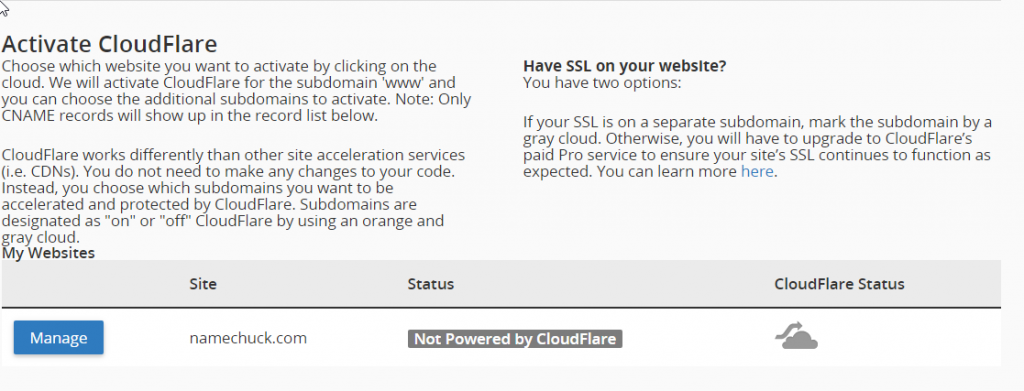 cloudflare-activate